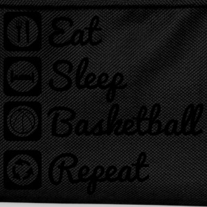 Eat sleep basketball T-skjorter - Ryggsekk for barn