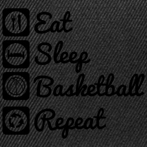 Eat sleep basketball T-Shirts - Snapback Cap