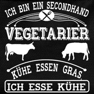 Secondhand Vegetarier - Kinder Rucksack