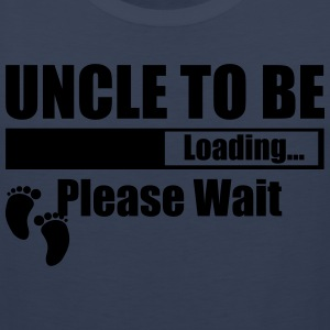 Uncle To Be Loading Please Wait T-Shirts - Men's Premium Tank Top