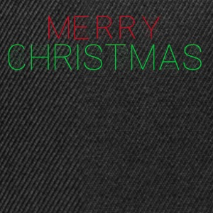 Merry christmas future Tee shirts - Casquette snapback