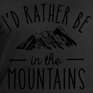 I'd Rather Be In The Mountains T-Shirts - Men's Sweatshirt by Stanley & Stella