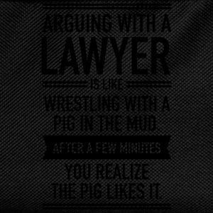 Arguing With A Lawyer... Pullover & Hoodies - Kinder Rucksack