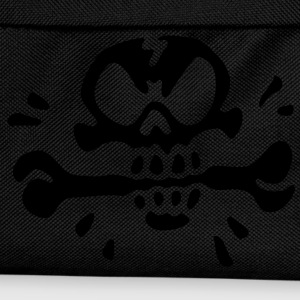 Annoyed Skull for Black Shirts - Kinder Rucksack