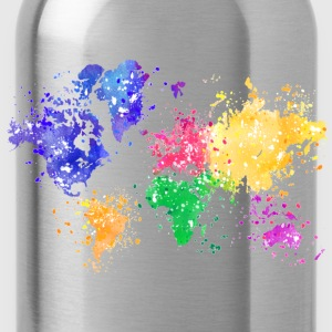 Rainbow Map Hoodie - Water Bottle