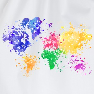 Rainbow Map Shirt - Drawstring Bag