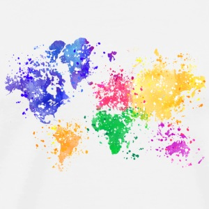 Rainbow Map - Men's Premium T-Shirt