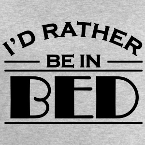 I'd rather be in bed T-Shirts - Men's Sweatshirt by Stanley & Stella