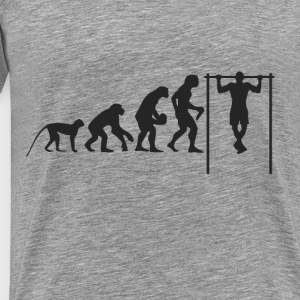Evolution Fitness Long sleeve shirts - Men's Premium T-Shirt