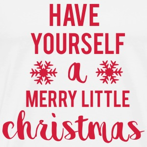 Merry Little Christmas Hoodies - Men's Premium T-Shirt