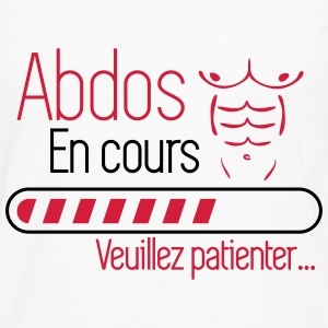 Abdos en cours - musculation Tee shirts - T-shirt manches longues Premium Homme