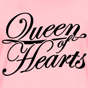Queen of Hearts - Frauen Premium T-Shirt