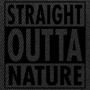 Straight Outta Nature T-skjorter - Snapback-caps
