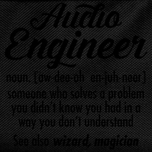 Audio Engineer - Definition T-Shirts - Kids' Backpack