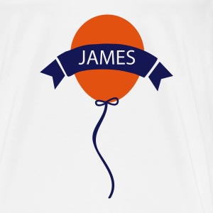_luftballon_james Baby Bodys - Männer Premium T-Shirt