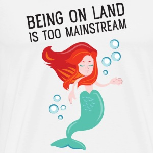 Being on land is too mainstream Sweatshirts - Herre premium T-shirt