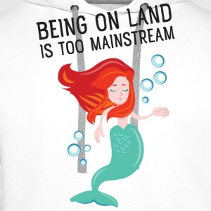 Being on land is too mainstream T-Shirts - Männer Premium Hoodie