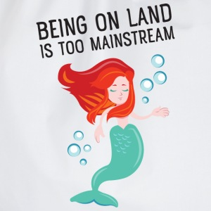 Being on land is too mainstream Sudaderas - Mochila saco