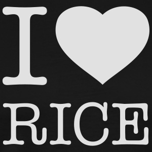 I LOVE RICE Tabliers - T-shirt Premium Homme