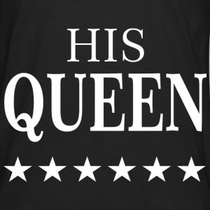 HIS QUEEN  T-Shirts - Männer Premium Langarmshirt