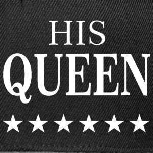 HIS QUEEN  T-Shirts - Snapback Cap