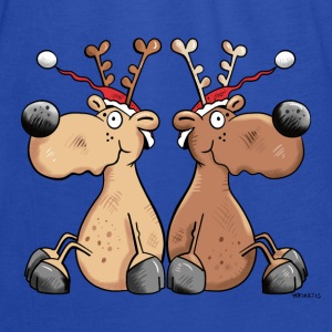 Christmas Reindeers Hoodies - Women's Tank Top by Bella
