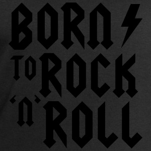 Born to rock n roll Bodys Bébés - Sweat-shirt Homme Stanley & Stella