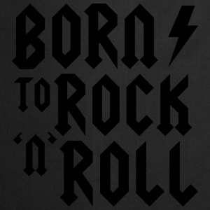 Born to rock n roll Baby-bodyer - Forklæde