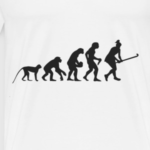 Evolution Hockey Langarmshirts - Männer Premium T-Shirt