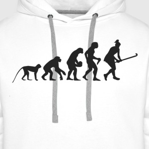 Evolution Hockey Shirts - Mannen Premium hoodie
