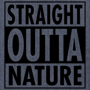 Straight Outta Nature T-shirts - Skuldertaske af recycling-material
