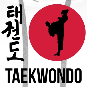 Taekwon-Do / Taekwondo / Taekwondoin / Art Martial Tabliers - Sweat-shirt à capuche Premium pour hommes