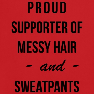 Proud supporter of messy hair and sweatpants Sweaters - Mannen voetbal shirt
