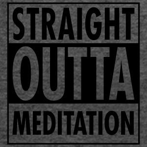 Straight Outta Meditation T-Shirts - Women's Tank Top by Bella