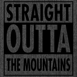 Straight Outta The Mountains T-shirts - Skuldertaske af recycling-material