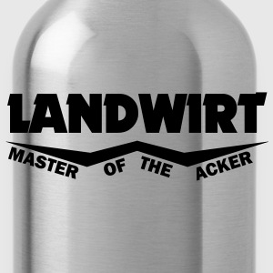 landwirt master of the acker T-Shirts - Trinkflasche