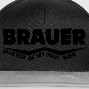 brauer master of my own bier T-Shirts - Snapback Cap