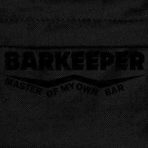 barkeeper master of my own bar T-Shirts - Kinder Rucksack