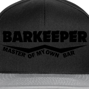 barkeeper master of my own bar T-Shirts - Snapback Cap