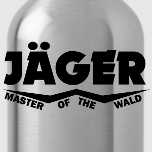 jäger master of the wald T-Shirts - Trinkflasche