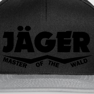 jäger master of the wald T-Shirts - Snapback Cap