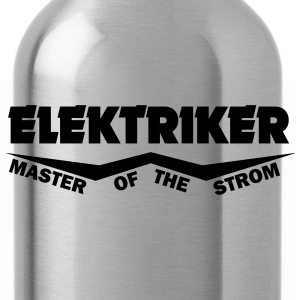 elektriker master of the strom T-Shirts - Trinkflasche