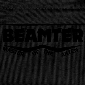beamter master of the akten T-Shirts - Kinder Rucksack