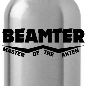 beamter master of the akten T-Shirts - Trinkflasche