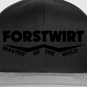 forstwirt master of the wald T-Shirts - Snapback Cap