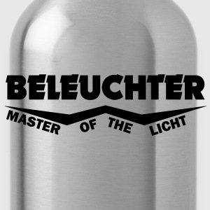 beleuchter master of the licht T-Shirts - Trinkflasche