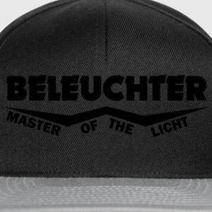 beleuchter master of the licht T-Shirts - Snapback Cap
