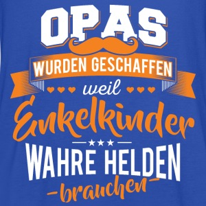 Opa Enkelkinder Helden - Frauen Tank Top von Bella