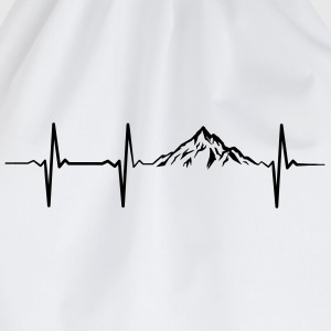 Heartbeat Mountains Pullover & Hoodies - Turnbeutel