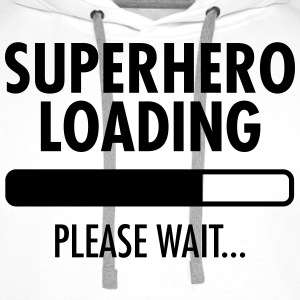 Superhero Loading- Please Wait... T-shirts - Premiumluvtröja herr